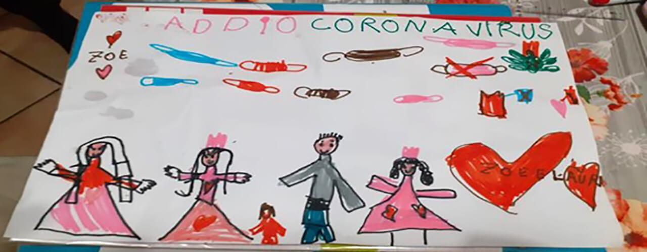 Quaderni di Pedagogia Digitale // Fondo Pizzigoni // Digito Dunque Sono // 003 Andrà Tutto bene: La speranza raccontata dai bambini